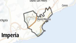地图 / Diano Marina
