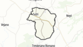 Hartă / Sutri