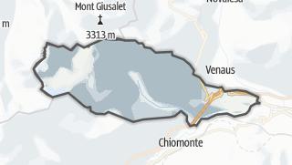 מפה / Giaglione