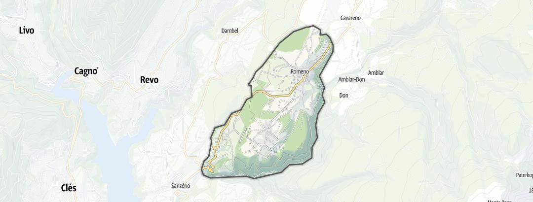 Map / Water Sports in Romeno