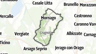 Mapa / Mornago