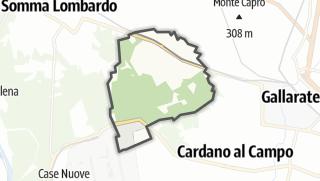 Mapa / Casorate Sempione