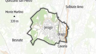 Mapa / Jerago con Orago