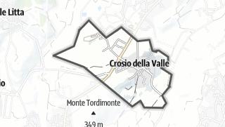 Mapa / Crosio della Valle