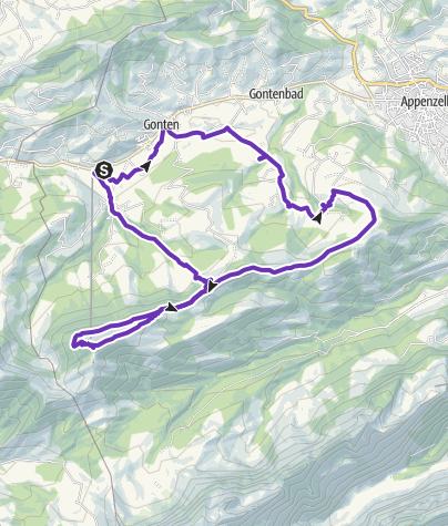 Karte / Kronbergaufstieg als 1/2 Marathon