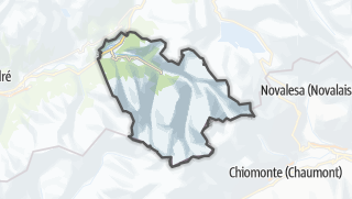 Mapa / Bramans