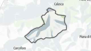 מפה / Bannio Anzino