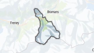 Mapa / Avrieux