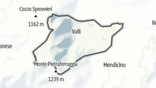 Mapa / Cerisano