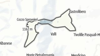 Térkép / Marano Principato