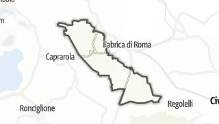 Hartă / Carbognano