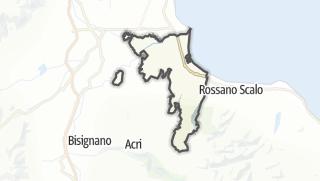 Mapa / Corigliano Calabro