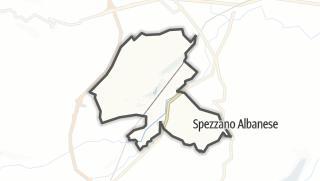 Mapa / San Lorenzo del Vallo