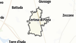 מפה / Certosa di Pavia