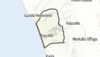 Térkép / Fuscaldo