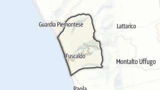 Mapa / Fuscaldo