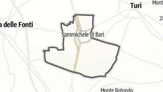Térkép / Sammichele di Bari