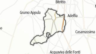 Térkép / Sannicandro di Bari