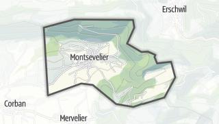 Mapa / Montsevelier