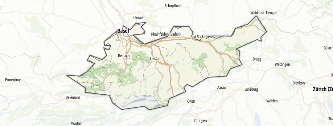Carte / Basel und Umgebung