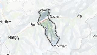 Karte / Sierre