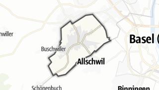 מפה / Hégenheim