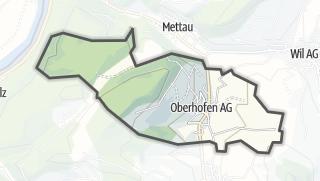 מפה / Oberhofen (AG)