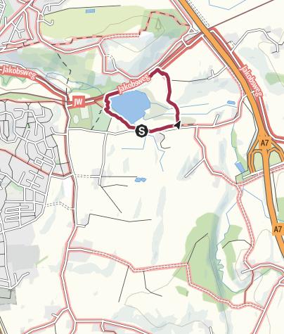 Map / Bachtelweiher mit Kinder