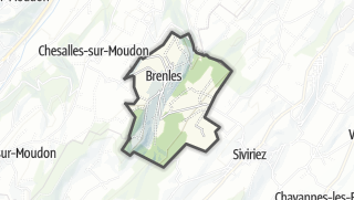 Карта / Brenles