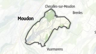 Mapa / Chavannes-sur-Moudon
