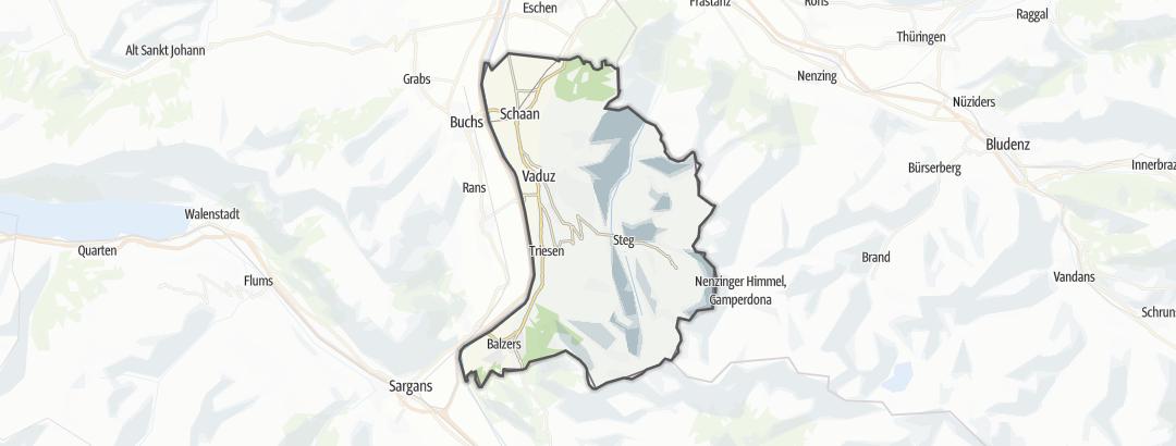 Mappa / Mangiare e bere a Oberland