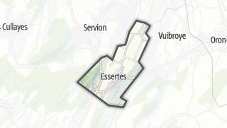 Карта / Essertes