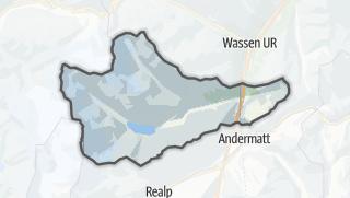 Karte / Göschenen