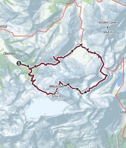 Karte / Wildstrubelüberschreitung V1