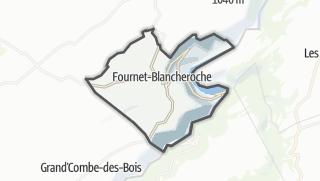 Térkép / Fournet-Blancheroche