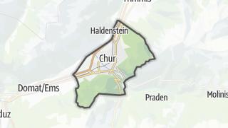 Karte / Chur
