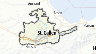 Karte / St. Gallen