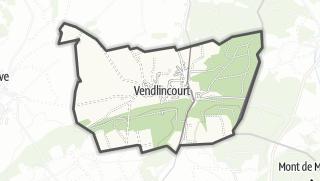 מפה / Vendlincourt