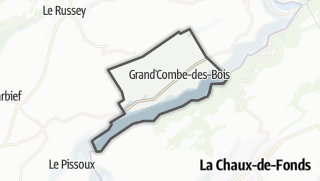 Térkép / Grand'Combe-des-Bois
