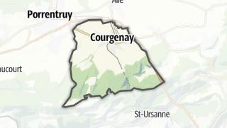 מפה / Courgenay