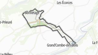 Térkép / Bonnétage