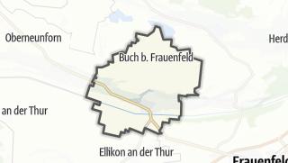 Cartina / Uesslingen-Buch