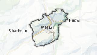 Mapa / Waldstatt