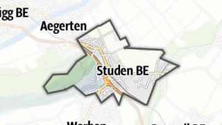 地图 / Studen (BE)