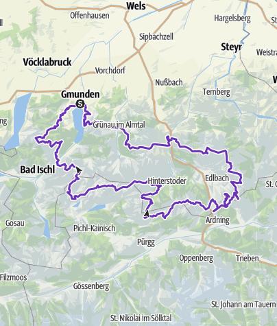 Karte / Trailrunningtour Sommer 2015