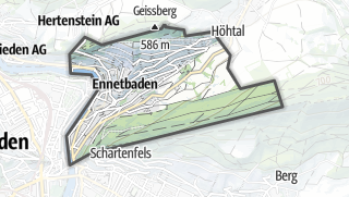 地图 / Ennetbaden