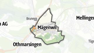 地图 / Mägenwil