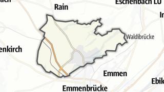 Cartina / Rothenburg