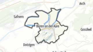 Cartina / Büren an der Aare