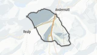 Karte / Hospental